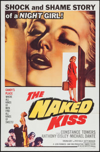 """The Naked Kiss (Allied Artists, 1964). One Sheet (27"""" X 41""""). Drama"""