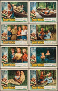 "Movie Posters:Bad Girl, Swamp Women (Woolner Brothers, 1956). Lobby Card Set of 8 (11"" X14""). Bad Girl.. ... (Total: 8 Items)"