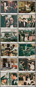 "Movie Posters:Crime, The Godfather (Paramount, 1972). Color Photo Set of 12 (8"" X 10"").Crime.. ... (Total: 12 Items)"