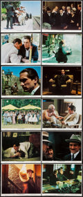 "Movie Posters:Crime, The Godfather Part II (Paramount, 1974). Color Photo Set of 12 (8""X 10""). Crime.. ... (Total: 12 Items)"