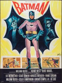 "Batman (20th Century Fox, 1966). French Grande (45.5"" X 61.5""). Action"