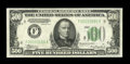 Fr. 2202-F $500 1934A Federal Reserve Note. Extremely Fine