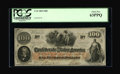 Confederate Notes:1862 Issues, T41 $100 1862. Cr-326 PF-15. ...