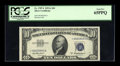 Small Size:Silver Certificates, Fr. 1707* $10 1953A Silver Certificate. PCGS Gem New 65PPQ.. ...