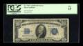 Small Size:Silver Certificates, Fr. 1705* $10 1934D Narrow Silver Certificate. PCGS Fine 15.. ...