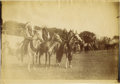 "Photography:Cabinet Photos, PHOTOGRAPH OF CHIEFS KICKING BEAR, SHORT BULL, AND THE MESSIAH This5"" x 7"" photograph depicts the Indian chiefs Kicking Be..."