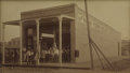 Western Expansion:Cowboy, Framed Photograph of Store in Conway, Texas 1901 - ...