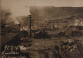 Photography:Cabinet Photos, Imperial Size Photograph of U. V. C. Co. Smelter in Jerome,Arizona, ca. 1890s....