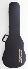Musical Instruments:Electric Guitars, 2000s Gretsch Solid Body Black Hard Case....