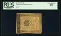 Colonial Notes:Pennsylvania, Pennsylvania July 20, 1775 10s PCGS Extremely Fine 45.. ...