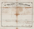Miscellaneous:Ephemera, [Peters Colony]. Texas Emigration and Land Company Archive...(Total: 5 Items)