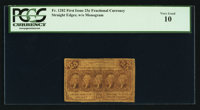 Fr. 1282 25¢ First Issue PCGS Very Good 10