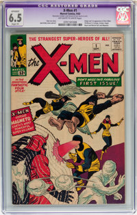X-Men #1 (Marvel, 1963) CGC Apparent FN+ 6.5 Slight (P) Off-white to white pages