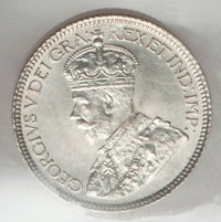 Canada: George V 10 Cents 1912