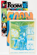 Magazines:Superhero, Foom Group (Marvel, 1973-77) Condition: Average FN/VF.... (Total: 9Comic Books)