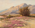 Texas:Early Texas Art - Regionalists, ROBERT WILLIAM WOOD (American, 1889-1979). Desert Carpet.Oil on canvas. 16 x 20 inches (40.6 x 50.8 cm). Signed lower r...