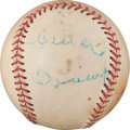 Autographs:Baseballs, 1982 Willard Brown Single Signed Baseball....
