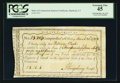 Colonial Notes:Connecticut, Connecticut Interest Certificate March 20, 1792 PCGS Extremely Fine45.. ...
