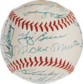 Autographs:Baseballs, 1958 New York Yankees Team Signed Baseball....