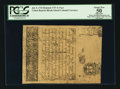 Colonial Notes:Rhode Island, Cohen Reprint Rhode Island July 5, 1715 Redated 1737 3s PCGSApparent About New 50.. ...