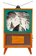 Post-War & Contemporary:Contemporary, KEN LUCE (American). Sea Hunt. Mixed media. 36-1/2 x 23-1/2x 3-1/2 inches (92.7 x 59.7 x 8.9 cm). ...