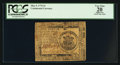 Colonial Notes:Continental Congress Issues, Continental Currency May 9, 1776 $1 PCGS Apparent Very Fine 20.....