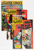 Golden Age (1938-1955):Classics Illustrated, Classics Illustrated First Editions Group (Gilberton, 1946-51) Condition: Average VG.... (Total: 31 Comic Books)