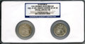 "Seated Half Dollars, 1861-O S.S. Republic ""CSA Speared Olive Bud Set"" Two-CoinSet NGC.... (Total: 2 coins)"