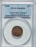 Proof Indian Cents: , 1900 1C PR64 Red and Brown PCGS. PCGS Population (123/62). NGCCensus: (54/69). Mintage: 2,262. Numismedia Wsl. Price for p...