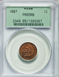 Proof Indian Cents: , 1887 1C PR65 Red and Brown PCGS. PCGS Population (54/9). NGC Census: (48/15). Mintage: 2,960. Numismedia Wsl. Price for pro...