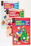 Bronze Age (1970-1979):Cartoon Character, Walt Disney's Comics and Stories Group (Gold Key, 1971-73) Condition: Average VF+.... (Total: 25 Comic Books)