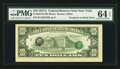 Error Notes:Third Printing on Reverse, Fr. 2024-B $10 1977A Federal Reserve Note. PMG Choice Uncirculated 64 EPQ.. ...