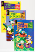 Bronze Age (1970-1979):Cartoon Character, Walt Disney's Comics and Stories #421-455 Group (Gold Key, 1975-78)Condition: Average VF/NM.... (Total: 35 Comic Books)