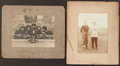 Football Collectibles:Photos, 1911-14 Football Cabinet Photographs (2 - one is two-sided, threeimages in all)....