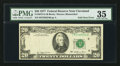 Error Notes:Foldovers, Fr. 2072-D $20 1977 Federal Reserve Note. PMG Choice Very Fine 35.....