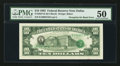 Error Notes:Third Printing on Reverse, Fr. 2027-K $10 1985 Federal Reserve Note. PMG About Uncirculated 50.. ...