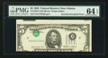 Error Notes:Inverted Third Printings, Fr. 1978-F $5 1985 Federal Reserve Note. PMG Choice Uncirculated 64EPQ.. ...