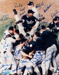 Autographs:Photos, 1998 New York Yankees Team Signed Large Photograph....