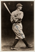 "Autographs:Photos, 1930's Frank ""Home Run"" Baker Signed George Burke Photograph...."