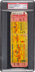 Baseball Collectibles:Tickets, 1956 World Series Game Five (Larsen Perfect Game) Full Ticket....