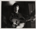Music Memorabilia:Photos, Beatles John Lennon Vintage B&W Glossy Photo....