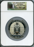 Modern Bullion Coins, 2010 25C Hot Springs Five Ounce Silver, Gem Uncirculated NGC....