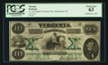 Obsoletes By State:Virginia, Richmond, VA- State of Virginia $10 Oct. 15, 1862 Cr. 10. ...