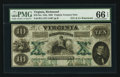 Obsoletes By State:Virginia, Richmond, VA- State of Virginia $10 Oct. 15, 1862 Cr. 11. ...