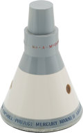 "Explorers:Space Exploration, Mercury McDonnell ""Project Mercury Manned Satellite Capsule"" Contractor's Model...."