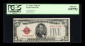 Small Size:Legal Tender Notes, Fr. 1530* $5 1928E Legal Tender Note. PCGS Choice New 63PPQ.. . ...