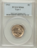 Buffalo Nickels: , 1913 5C Type One MS66 PCGS. PCGS Population (1746/449). NGC Census:(1215/278). Mintage: 30,993,520. Numismedia Wsl. Price ...
