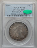 Early Half Dollars, 1806 50C Pointed 6, No Stem XF40 PCGS. CAC. O-109a, R.4....