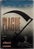 Books:Literature 1900-up, Albert Camus. The Plague. Knopf, 1948. First Americanedition, first printing. Light rubbing and finger-soiling ...