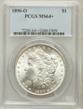 Morgan Dollars: , 1890-O $1 MS64+ PCGS. PCGS Population (3286/470). NGC Census:(2723/190). Mintage: 10,701,000. Numismedia Wsl. Price for pr...